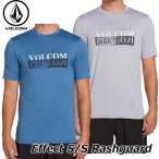 volcom ボルコム ラッシュガード メンズ Effect S/S Rashguard 半袖  N0121900 【返品種別OUTLET】
