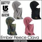 16-17 BURTON バートン モデル MENS スノー ネックウォーマーEmber Fleece Clava フリース クラバ メンズ 日本正規品【返品種別SALE】