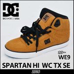 DC スニーカー ディーシー シューズ SPARTAN HI WC TX SE スパルタン ハイ WE9 靴 メンズ ハイカット 【返品種別SALE】