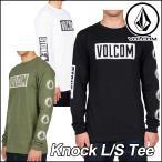 ショッピングvolcom volcom ボルコム tシャツ ロンT メンズ ティー /新作/ Knock L/S Tee 長袖 /