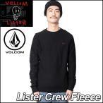 ショッピングvolcom volcom ボルコム トレーナー メンズ /新作/ Lister Crew Fleece /フリース 長袖 クルー VOLCOM ヴォルコム
