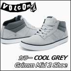ショッピング春夏 volcom ボルコム スニーカー メンズ /新作//Grimm Mid 2 Shoe /カラー/COOL GREY/  シューズ 靴 /40%OFF//【返品種別SALE】
