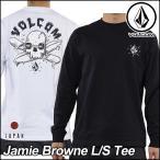 ショッピングボルコム VOLCOM ボルコム tシャツ ロンT メンズ Jamie Browne L/S Tee 長そで JapanLimited ヴォルコム メール便可