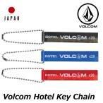 ショッピングボルコム ボルコム volcom キーホルダー Volcom Hotel Key Chain ホテル キーチェーン japan limited メール便可