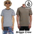 ショッピングボルコム ボルコム tシャツ volcom メンズ  Briggs Crew 半袖 半そで VOLCOM Mens T ティーシャツ メール便可