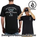 ショッピングボルコム ボルコム tシャツ volcom メンズ Swingers Saloon S/S Tee 2018 春夏半袖 半そで VOLCOM Mens  メール便可