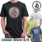 ショッピングボルコム ボルコム tシャツ volcom メンズ Classic Stone S/S Tee 2018 春夏半袖 半そで VOLCOM Mens  メール便可
