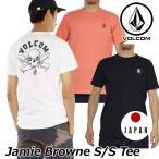 ショッピングボルコム ボルコム tシャツ メンズ Jamie Browne S/S Tee 2018 春夏半袖 アジアンフィット volcom 半そで japan limited メール便可