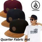 ショッピングボルコム ボルコム キャップ volcom メンズ Quarter Fabric Hat スナップバック VOLCOM  帽子 メール便不可