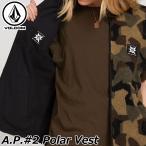 ボルコム VOLCOM メンズA.P.#2 Polar Vest リバーシブルベストジャケット A1831950 ship1