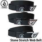 ボルコム VOLCOM メンズ ベルトStone Stretch Web BeltJ59520JA