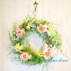 フラワーリース 送料無料 ピュアブルーム リース 30cm 結婚式