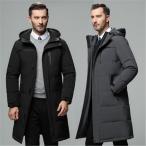 メンズ ダウンジャケット ダウンコート ロングコート フード付き ダウン ジャケット ロングコート 30代 40代 50代 ビジネス 秋冬