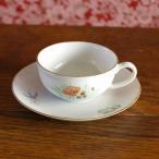 ドイツ製Arzberg (C)きのこ、かたつむり、ツバメ 子供用 ミニティーカップ ソーサー プレート アルツベルク #160930 陶器 ビンテージ食器 アンティーク