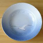 Bing&Grondahl かもめ柄 金彩 スーププレート 深皿 24cm ビング オー グレンダール #160820-2 デンマーク アンティーク食器 ビンテージ 雑貨