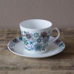 イギリス ヴィンテージ Elizabethan エリザベサン Carnaby カーナビー コーヒーカップ ソーサー #190824-1~3