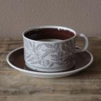 北欧スウェーデン製 ヴィンテージ食器 ゲフレ フォンタナ ティーカップ&ソーサー #190824-1