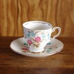 Royal Stafford クローバー 花柄 コーヒーカップ ソーサー #180325-1‾5
