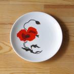 Susie Cooper ひなげし花柄 コーンポピー デザートプレート 17cm ケーキ皿 #180618-3,4