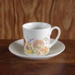 ヴィンテージ食器 Wedgwood ウェッジウッド Summer Bouquet サマーブーケ コーヒーカップ ソーサー #181101-1~5