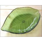 TOSSDICE トスダイス リーフガラストレイ (L) LEAF GLASS TRAY 皿 食器 ガラス 葉 キッチン