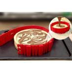 ケーキ型 シリコンベルト 4本セット 丸型 ハート型 アレンジ自在 DIY ケーキ シリコン モールド キッチン用品 製菓、製パン用品