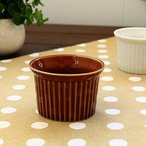 2colorラインスフレ<アメイロ>   洋食器 スフレ ココット カップ グラタン ドリア オーブン ボウル 鉢 アウトレット 日本製
