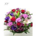 誕生日プレゼント 百合の生花フラワーアレンジメント 送料無料