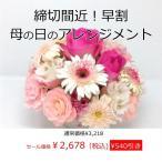 ショッピングフラワー 早割母の日フラワーアレンジメント 送料無料 季節のお花たっぷりおまかせ、