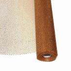 ゴールドメッシュ No.6 金ラメ オレンジ ラッピングペーパー 68cm×10ヤード 包装紙 GOLD MESH
