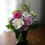 プリザーブドフラワー仏花 お供え花 花想い 選べる2色 お供えの花 ギフト メモリアルフラワー お盆