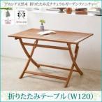 庭用 外用 屋外 テーブル チェア セット ガーデン ファニチャー 家具 テラス ベランダ バルコニー/テーブル W120