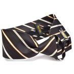 らくらく ワンタッチネクタイ ファスナー付き!【visconti】 ブランド ネクタイ シルク necktie ストライプWA-180