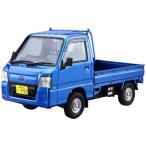 プラモデル 車 自動車 ザ・モデルカー No.4 1/24 スバル TT2 サンバートラック WRブルーリミテッド '11 SUBARU SAMBAR アオシマ 4905083051559 再生産予約
