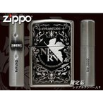 zippo ジッポー ライター レギュラー 限定側面シリアルナンバー入り 新世紀エヴァンゲリオン NERV EVAtic Elements Ver オリジナル 銀古美 シルバー