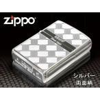 zippo ジッポー ライター レギュラー Tsumugi つむぎ 2S-MESH 銀 シルバー