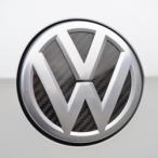 Sprung カラードプレート(エンブレム台座) リア ドライカーボン VW