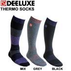 DEELUXE ディーラックス THERMO SOCKS サーモソックス ノーマル スノーボード ソックス 靴下