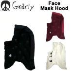 16-17 GNARLY ナーリー Face Mask Hood フェイスマスク スノーボード ウェア