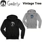 16-17 GNARLY ナーリー Vintage Tree ビンテージ ツリー 長袖 フード プルオーバー スノーボード ウェア