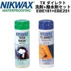 スノーウェア用洗剤・撥水剤