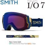 16-17 SMITH スミス ゴーグル IO7 BLACK/BLACK [Photochromic Red Sensor] 調光レンズ 10208008 正規品 アイオーセブン JAPAN FIT アジアンフィット