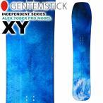 18-19 GENTEMSTICK ゲンテンスティック XY 157.3cm スノーボード パウダーボード エックスワイ 板