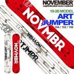 ショッピングスノーボード [送料無料] 18-19 NOVEMBER ノベンバー スノーボード ARTJUMPER アートジャンパー ノーベンバー パーク メンズ サイズ 板
