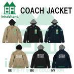 代引料無料 16-17 inhabitant インハビタント スノーボードウェア COACH JACKET コーチジャケット メンズウエア