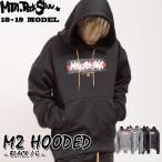 ショッピングスノーボードウェア 18-19  Mtn. Rock Star マウンテンロックスター PLAN B プランビー M2 HOODED [BLACK/G] エムツーフード ユニセックス スノーボードウェア