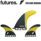 FUTURE FINS {フューチャーフィン} TAYLOR JENSEN 2+1 [Carbon Yellow] ロングボード用 {テイラー・ジェンセン}
