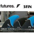 FUTURES FINS フューチャーフィン LOST LARGE 5FIN [BLUE BLACK] 5フィン