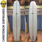 [送料無料]CHRISTENSON クリステンソン サーフボード FLAT HEAD 9'2 (Clear バフ仕上げ ツヤ有り) フラットヘッド ロングボード