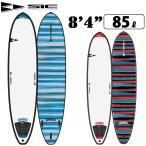 """ソフトボード サーフィン SIC SURF エスアイシー サーフボード DARKHORSE SERIES 8'4"""" ダークホース フィン付 ミニロングボード SURFBOARD [条件付き送料無料]"""